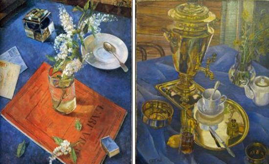 петров водкин утренний натюрморт: